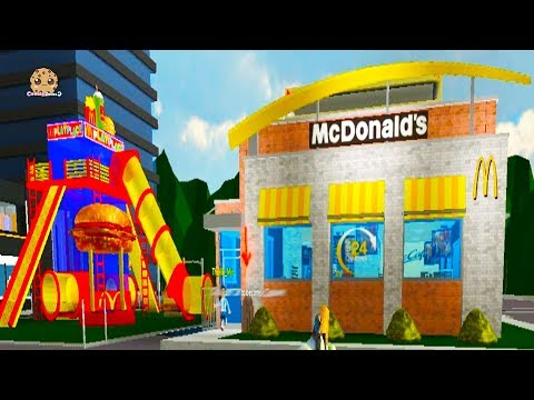 Working At Monalds Fast Food Restaurant - Cookie Swirl C Roblox Game