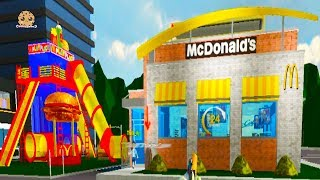 Working At McDonalds Fast Food Restaurant - Cookie Swirl C Roblox Game Video