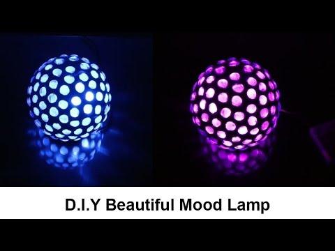 D I Y Beautiful Mood Lamp