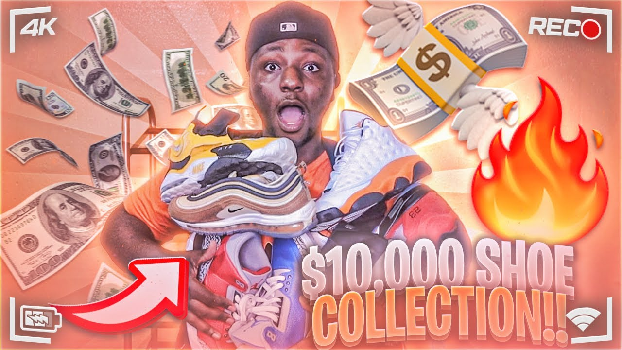 MY INSANE SNEAKER COLLECTION 😳!!