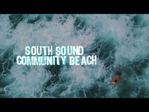 Surfing in Cayman - South Sound Community Beach