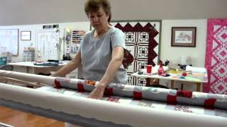 How Longarm Quilting Works