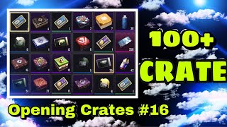 PUBG MOBILE - Opening 100+ Crate
