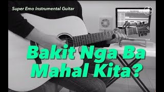 Jake Zyrus (Charice) - Bakit nga ba Mahal Kita instrumental guitar karaoke version cover with lyric