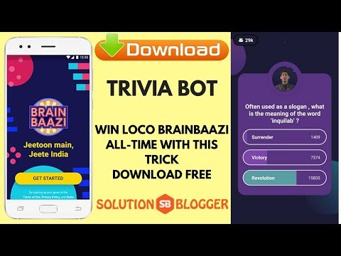 How to | Win Loco Quiz | Hack Loco quiz | Loco quiz Answers
