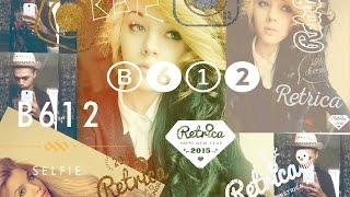 Logos Retrica y B612 2015 Photshop