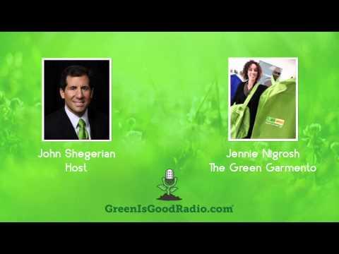 GreenIsGood - Jennie Nigrosh - The Green Garmento