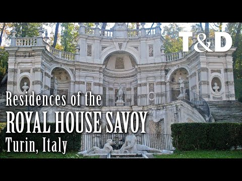 Residences of the Royal House of Savoy 🇮🇹 Turin, Italy
