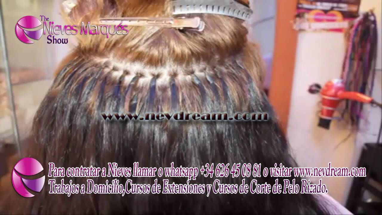 Very Short Hair Extensions Extensiones En Cabello Supercorto Youtube