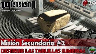 Wolfenstein 2 The New Colossus | Mision Secundaria #2 | Destruir las Tablillas Sumerias