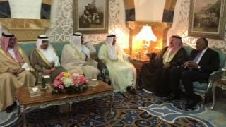 Arab countries FMs await to meet Tillerson in Jeddah