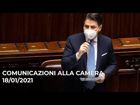 Comunicazioni del Presidente Conte alla Camera
