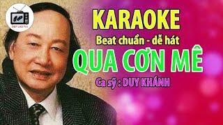 Qua Cơn Mê - Karaoke Chuẩn - Kênh DÉP LÀO Tivi
