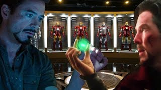 AVENGERS 4 Dr Strange SENT TIME STONE INTO THE FUTURE