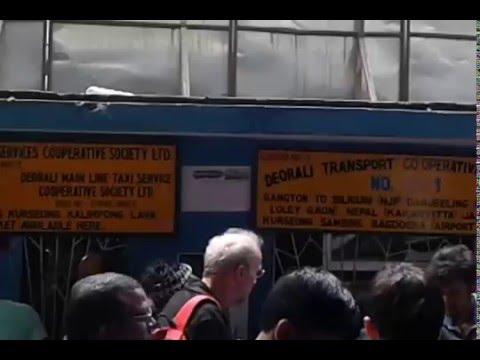 Deorali Bus & Taxi Stand | Gangtok to NJP Siliguri Nepal Bhutan Share Car Stand at Deorali