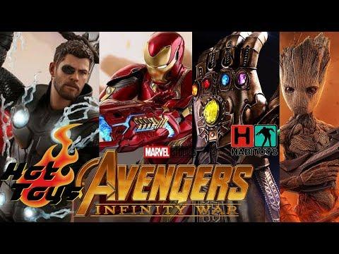 Hot Toys AVENGERS Infinity War !! Iron Man, Thor y mas!! HABI TOYS