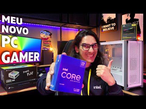 MEU NOVO PC GAMER COM INTEL CORE i7-11700K + CORSAIR