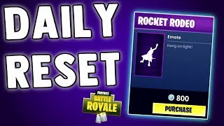 FORTNITE DAILY SKIN RESET - NINJA EMOTE (The 1 He Uses) Fortnite Battle Royale NEW ITEM SHOP SKINS