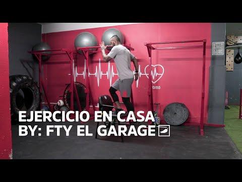 Ejercicio en casa II con FTY El Garage