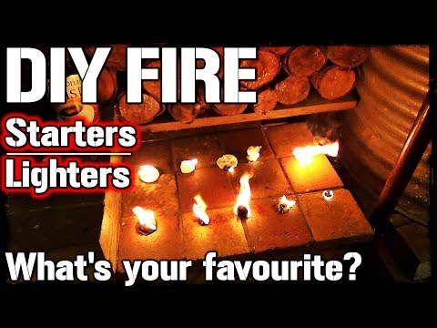 Fire Starters For Motorcycle Camping