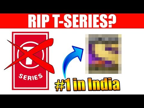 India Has Another HUGE Channel... (RIP T-Series)