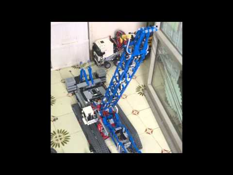 lego technic 42042 crawler crane youtube. Black Bedroom Furniture Sets. Home Design Ideas