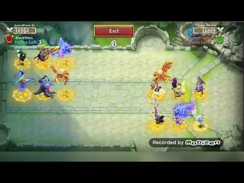 CASTLE CLASH  Fortress Feud Domination 2