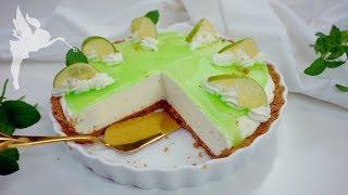 Limetten Frischkäse Kühlschrank Torte - Nobake Torte mit Limette & Frischkäse - Kuchenfee