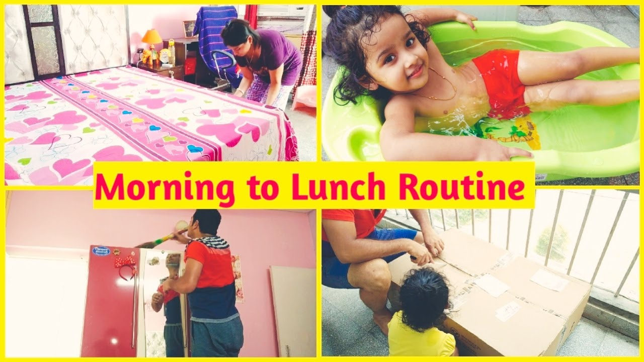 Indian Mom Morning to Lunch Routine || Cleaning Vlog