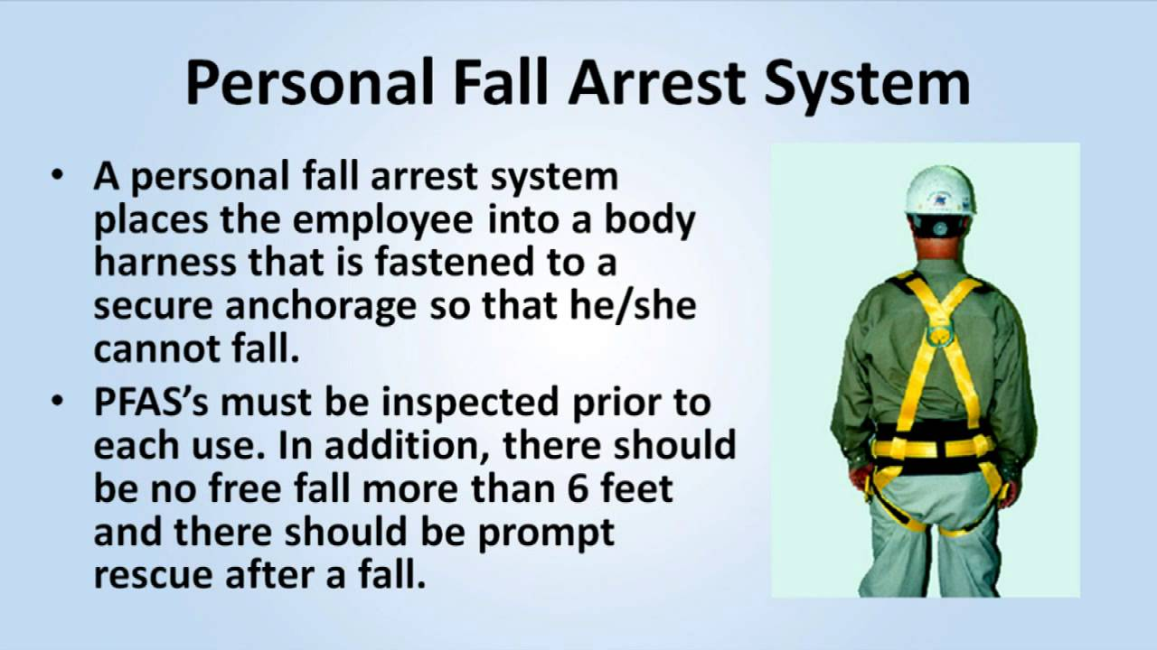 Fall Protection Training Youtube