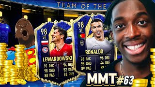 TOTY CR7 AND ROBERT LEWANGOALSKI?👀⚽⚽ OR FRAUDSKI? S2- MMT #63