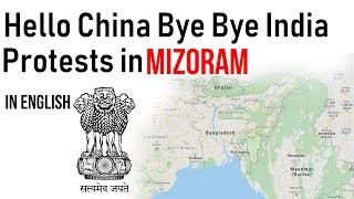 Hello China Bye Bye India protest in Mizoram, Why student groups are against Citizenship Bill?