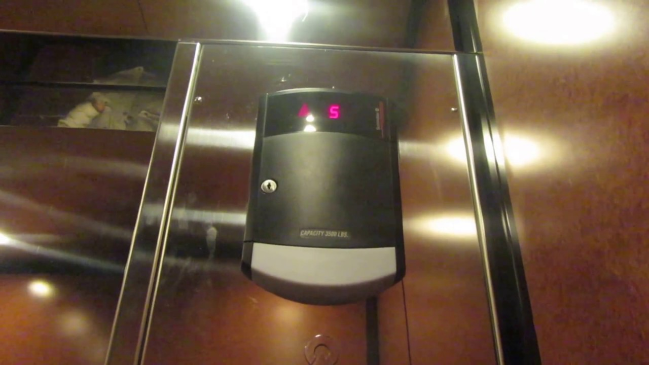 Schindler elevators at the Hilton Garden Inn in Worcester MA - YouTube