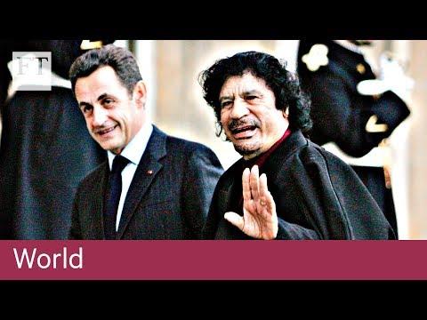 Sarkozy in custody over election funding
