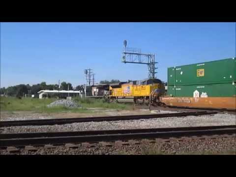 Foreign Power on NS Trains in Cordele, GA