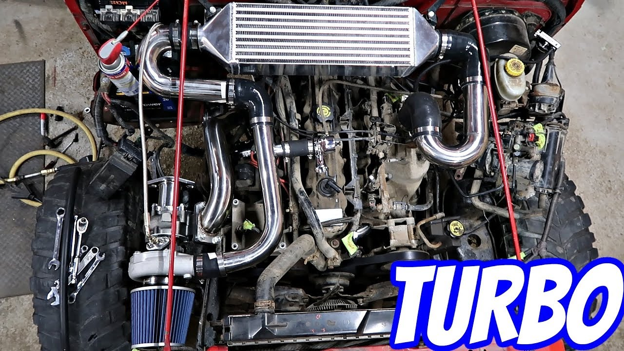 Turbo Charging My Jeep Wrangler!