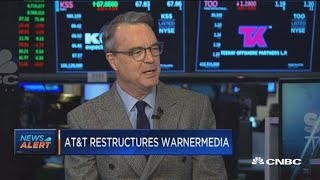 AT&T restructures WarnerMedia as part of merger