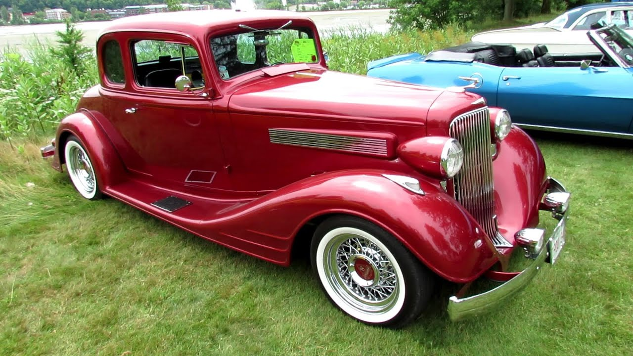 1934 Pontiac Coupe - Street Rod - Exterior Walkaround - 2013 Granby ...