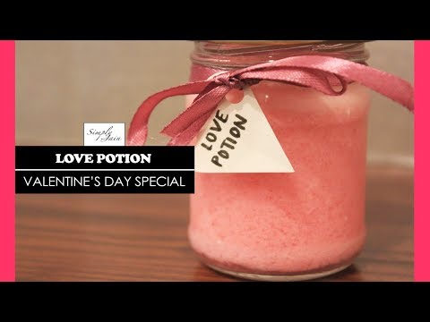 Love Potion   How To Make A Love Potion Drink   Valentine's Day Special   Simply Jain