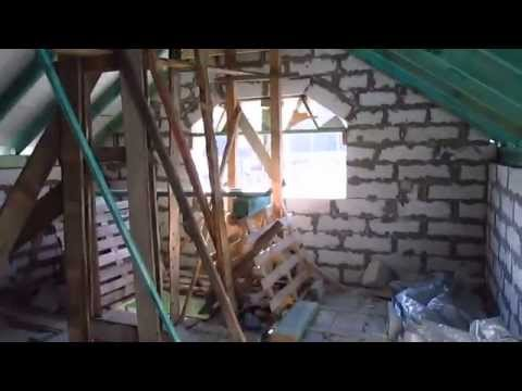видео: Крыша гаража своими руками. Мансарда над гаражом