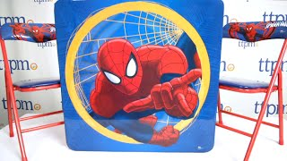 Marvel Ultimate Spider-man Table & Chairs Set From Kids Only