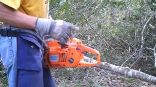 Defective Brand New Husqvarna Chainsaw thumbnail