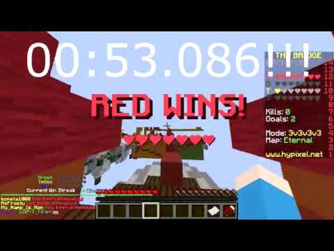 (Triples) Hypixel's The Bridge FASTEST GAME ft. _FiFer and ItsEbbe! (WORLD RECORD)