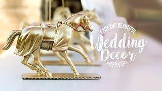 5 Easy and Cheap Wedding DIYs | Simple yet Beautiful!