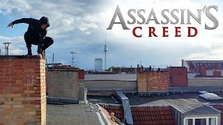 Assassin's Creed Parkour meets Fitness YouTuber