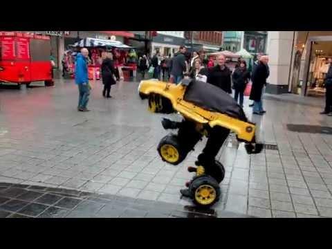Church Street Transformer Car Liverpool 2015
