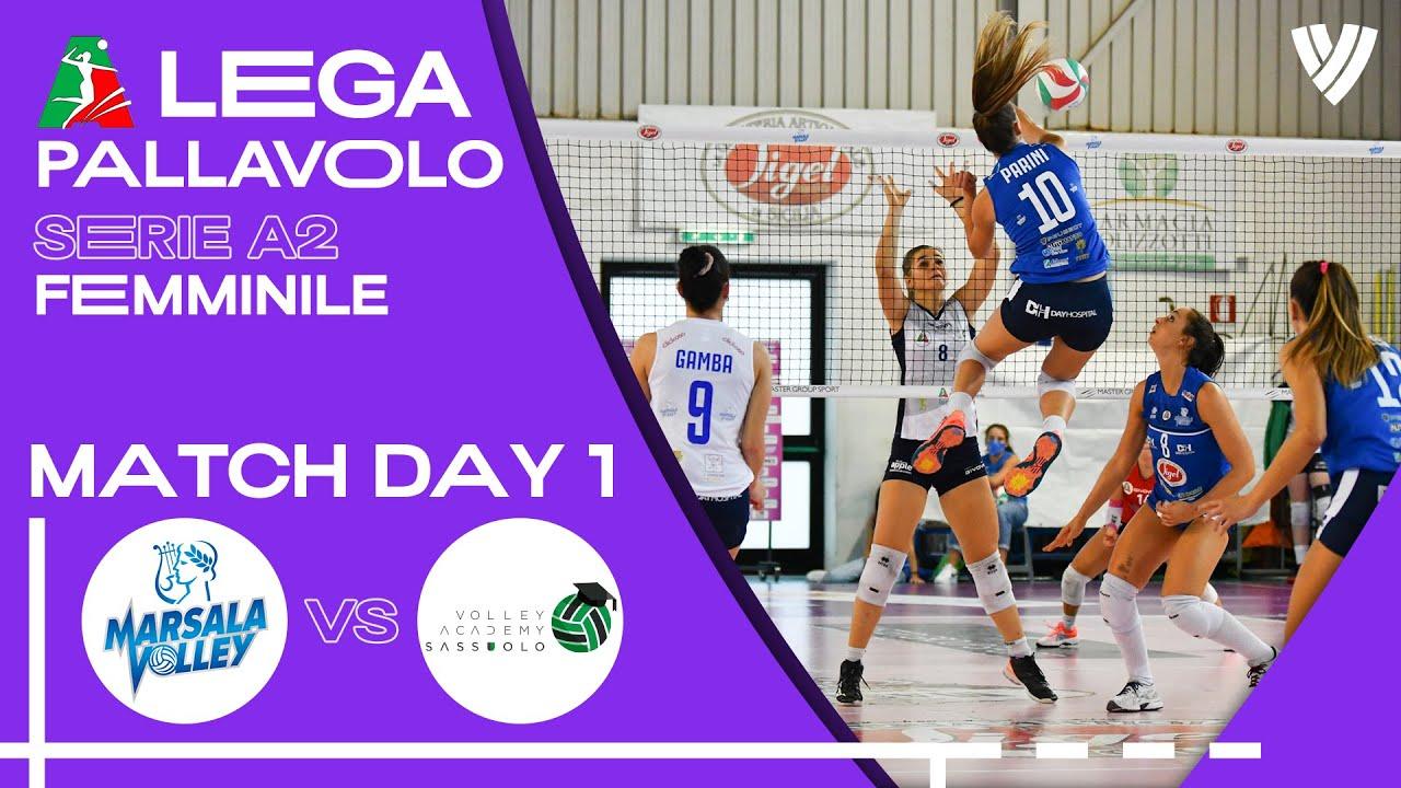 Marsala Volley vs. Sassuolo - Full Match   Women's Serie A2   2021