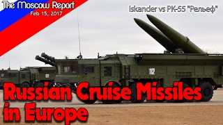 Russian Cruise Missiles in Europe - Putin vs Trump or Iskander vs Tomahawk  - SSC-X-8