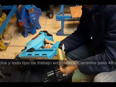 Pistola de clavos para madera youtube - Clavos para madera ...