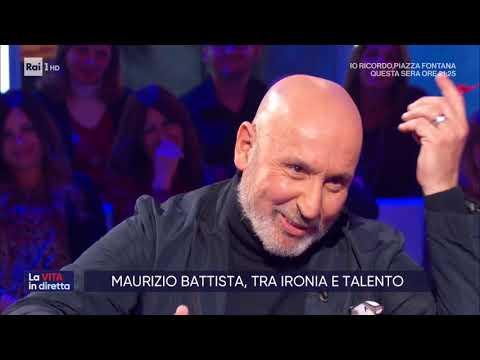 Maurizio Battista, risate garantite - La vita in diretta 12/12/2019